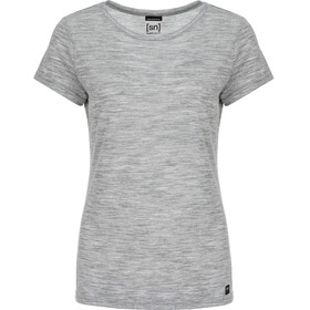 super.natural Everyday - Camiseta manga corta Mujer - gris